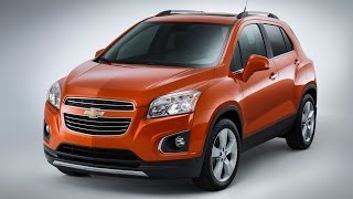 2015 Chevrolet Trax First Look -- Edmunds.com