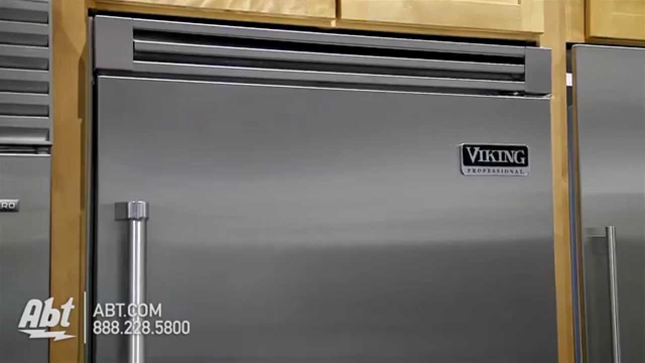 Viking 36 Bottom Freezer Refrigerator Vcbb5362rss Overview