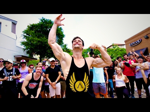 Throwing a STREET PARTY by the University of Texas with Brandon Carter! | Clothing Launch