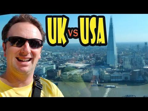 United Kingdom vs USA - 20 Differences