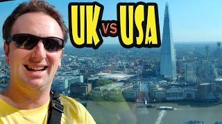 united kingdom vs usa 20 differences