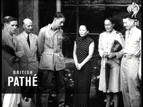 Chiang Kai Shek And Wife (1940-1949)