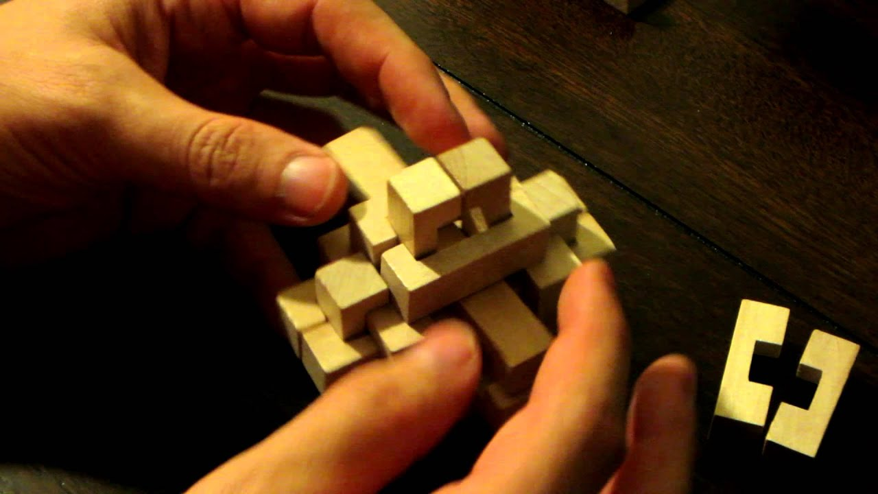 9 Piece Wooden Ball Puzzle | Wooden Thing