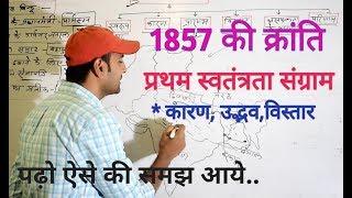 1857 की क्रांति.... revolt of 1857