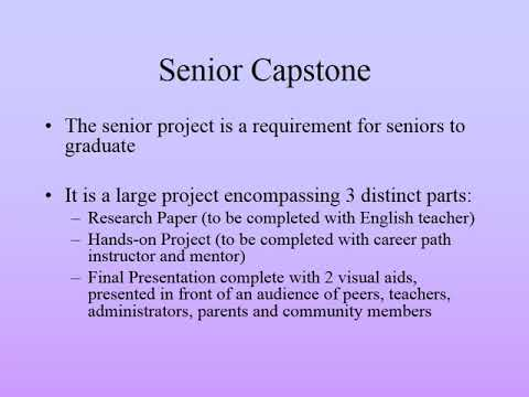 professional capstone project gcu