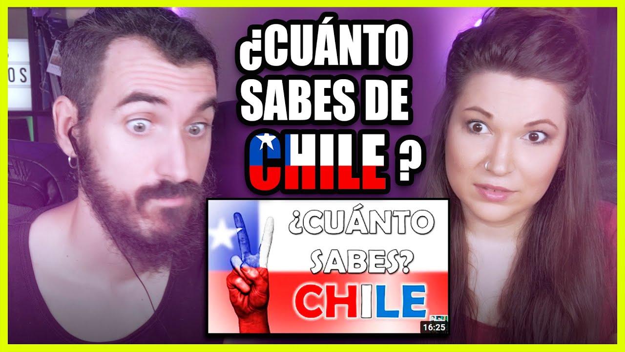 👉 Españoles responden a ¿CUÁNTO SABES DE CHILE? | Somos Curiosos