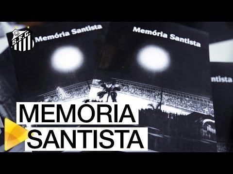 Guilherme Guarche lança o livro Memória Santista