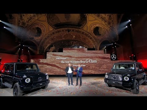 2019 Mercedes-Benz G-Class World Premiere Highlights + Interview with Dieter Zetsche