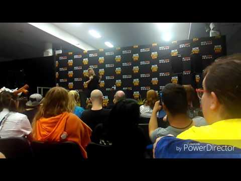 MCM Comic-Con Ireland 2017 Veronica Taylor Q&A + Cosplay Competition
