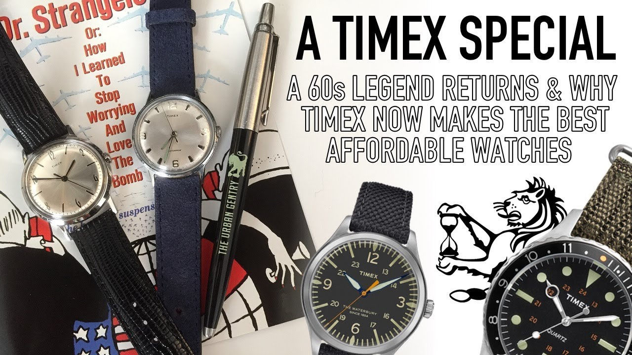 3e62e1f77b30 How Timex Will Make The Best Watches Under  200 in 2018 - Marlin Reissue  Review   Comparison