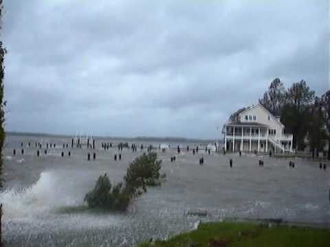 BELHAVEN NC - HURRICANE HANNAH. Video Postcard 43.
