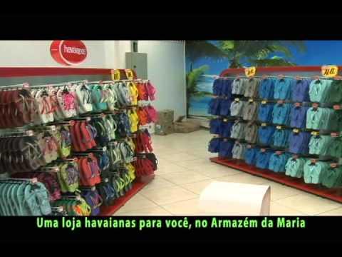 624fcfa8c Nova loja Havaianas no Armazém da Maria - YouTube