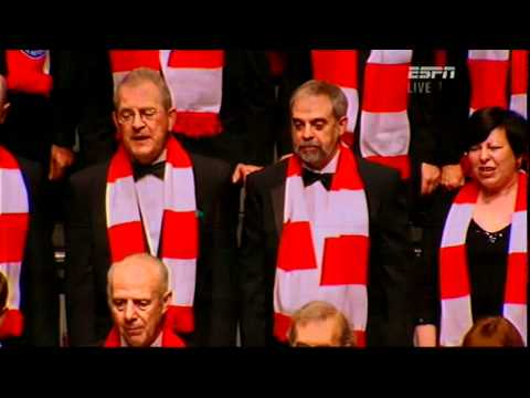 Ceramic City Choir Delilah for Stoke Potters in the FA Cup Final