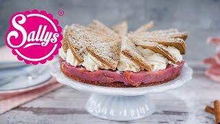 geniale Friesentorte / Torte mit Knusperboden