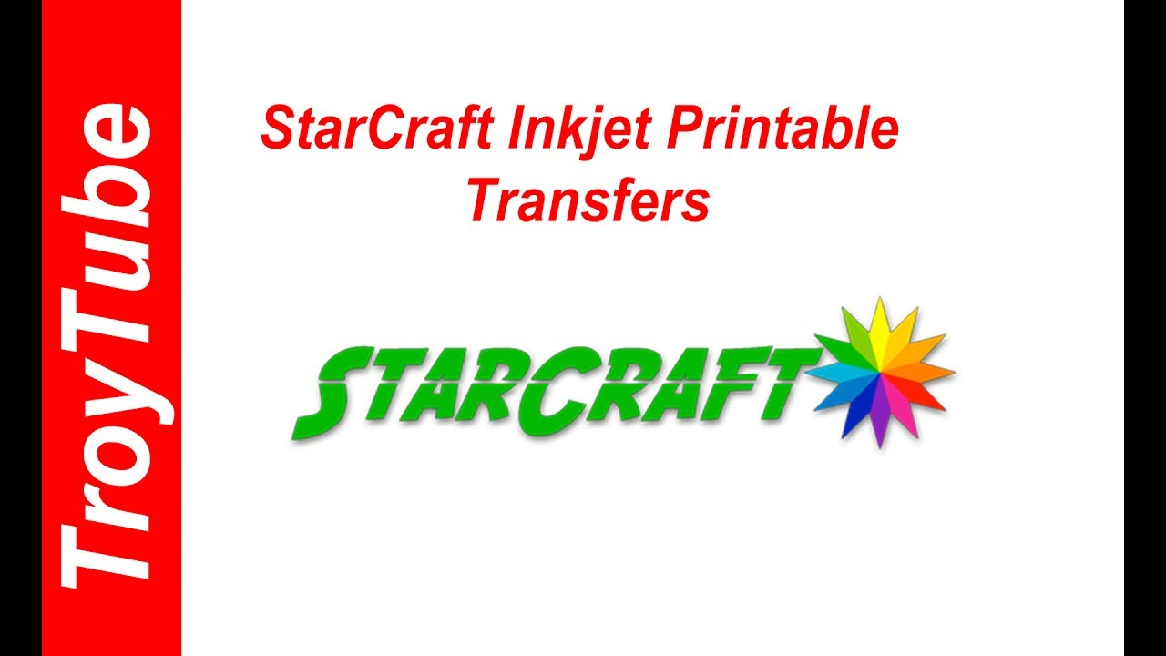 photo about Starcraft Printable Htv titled Fresh new Item - Starcraft Inkjet Printable Transfers