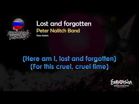 "Peter Nalitach Band - ""Lost And Forgotten"" (Russia) - [Karaoke version]"