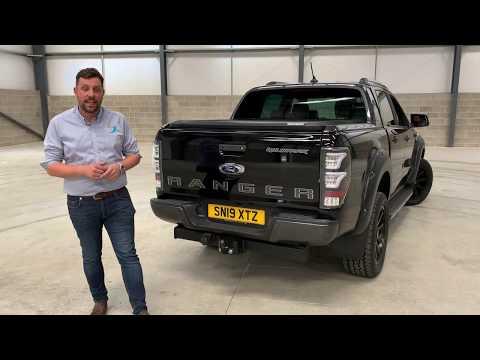 Ford Ranger Pickup Truck 'Predator Raptor' LED Rear Lights (With Fog Light Function)