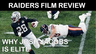 Raiders Film Review: Why RB Josh Jacobs is Elite