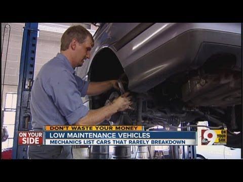 Low maintenance vehicles