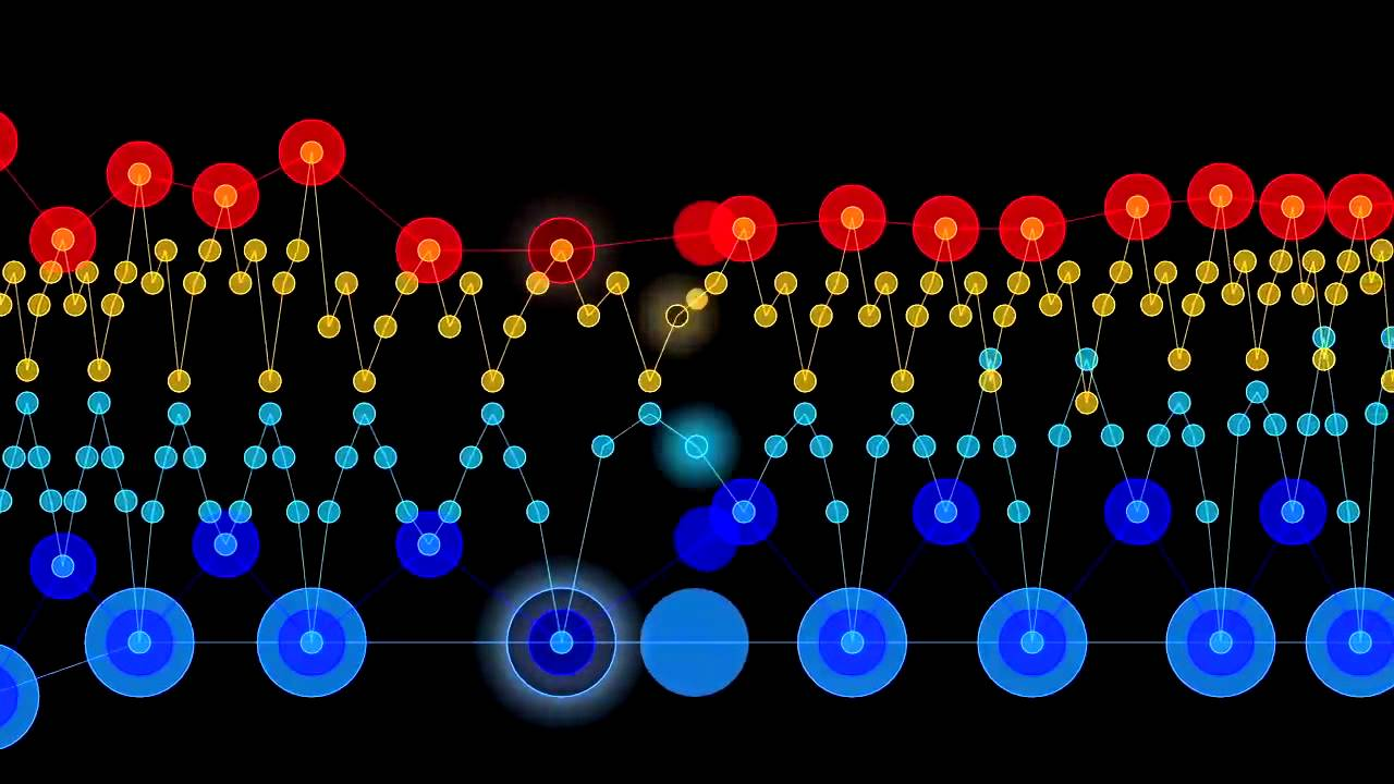 Chopin, Étude, opus 25 no  1, A-flat major, an animated visualization
