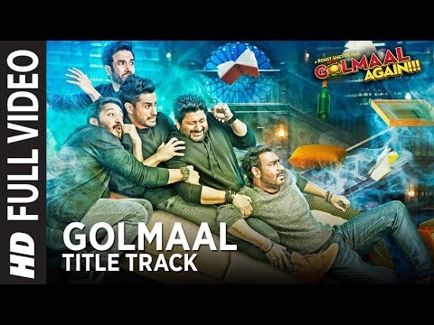 Golmaal Title Track Full Song | Ajay...