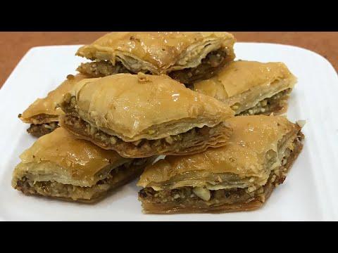 Baklava recipe baklava recipe with homemade phyllo sheets Turkish baklava recipe from scratch