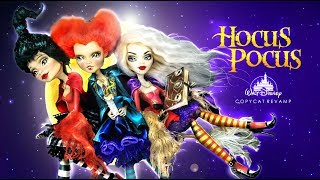 Doll Figurine HOCUS POCUS The Sanderson Sisters | Halloween | Witches | Monster High Repaint Ooak