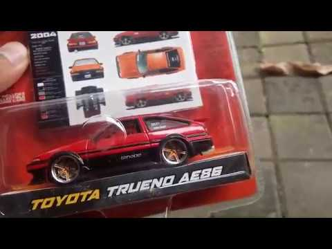 Jada Toys IMPORT RACER! Toyota Trueno AE86