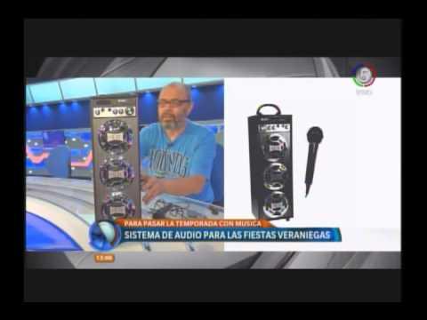 Parlante para el verano, el karaoke en casa - Columne Tecno Telefe Noticias Rosario