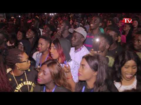 Vidéo: Fallou explose le concert de Tarba Mbaye à Grand Dakar