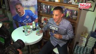 Chaco Giménez presentó su libro y habló de la Asociación de futbolistas