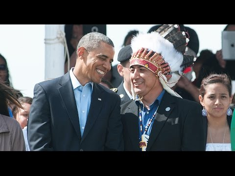 Obama Finally Addresses Standing Rock - Suggests Rerouting The Pipeline