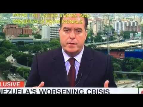 Julio Borges president of national Assembly of Venezuela CNN