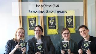 Interview // Brandon Sanderson (Leipziger Buchmesse 2017)