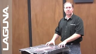 Laguna Tools Fusion Tablesaw Setup - Unboxing The Machine - Part 3 Of 18