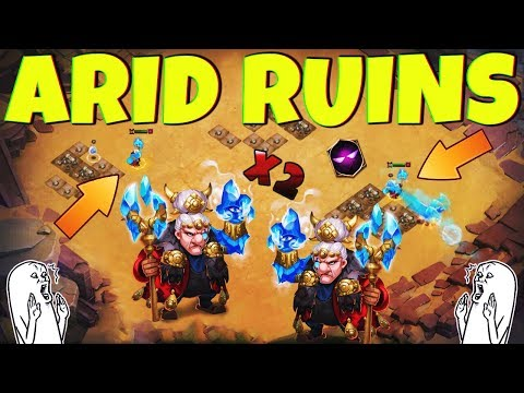 2 Ma Hatmas | SHREDDING [ ARID RUINS ] CASTLE CLASH