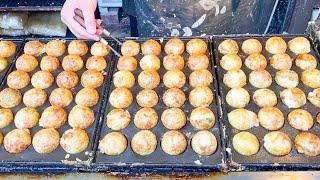 japanese street food - TAKOYAKI ( osaka )
