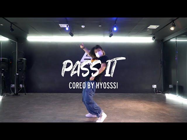 [동탄댄스학원] CHOREOGRAPHY 코레오그래피 | MK xyz - Pass It