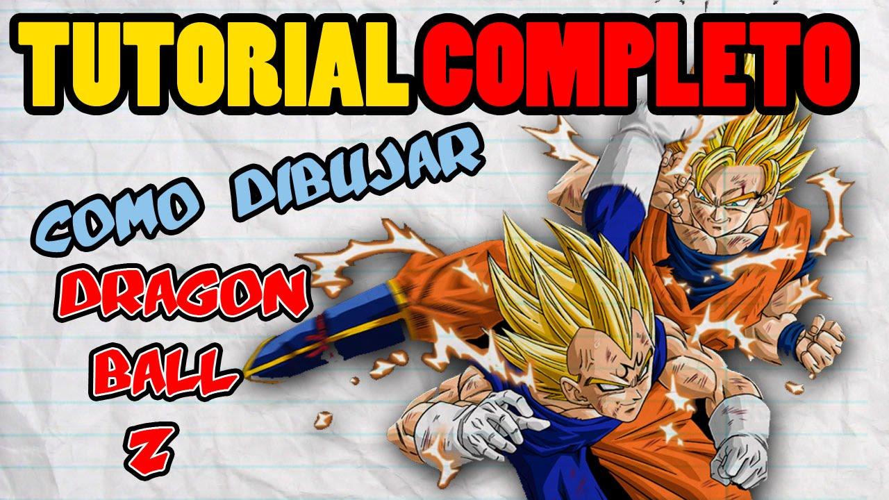 TUTORIAL COMPLETO: Como Dibujar Dragon Ball Z