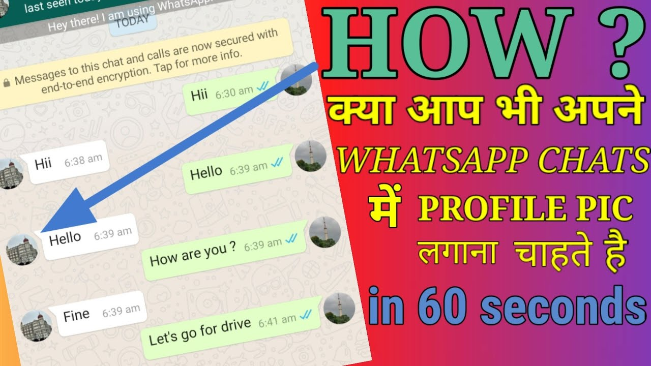 How To Set Profile Photo in Whatsapp Messages | Latest ...