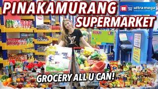 GROCERY ALL YOU CAN! PINAKAMURANG SUPERMARKET PANG-NEGOSYO SA ULTRA MEGA | VLOG#57 Candy Inoue ♥️