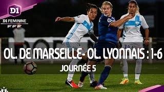 J5 : Olympique de Marseille - Olympique Lyonnais (1-6), le résumé