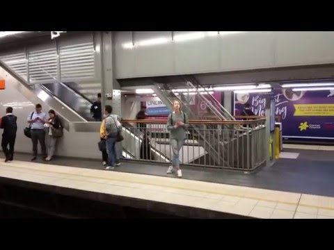 Town Hall Train Station - Sydney CBD - Australia