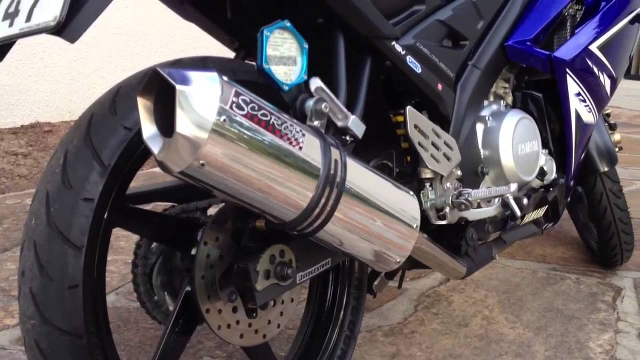 Yamaha R15 Scorch Performance Exhaust Pipe