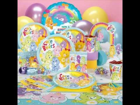 Care bears party supplies youtube care bears party supplies filmwisefo