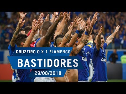 29/08/2018 - Bastidores - Cruzeiro 0 x 1 Flamengo