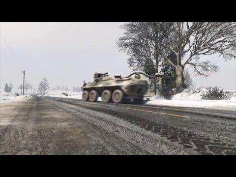 GTA 5 BTR-90 Rostok