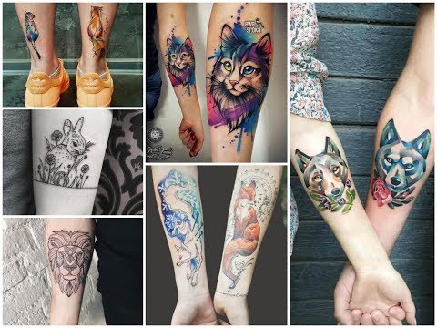 50+ Beautiful and Creative Animal Tattoo Designs