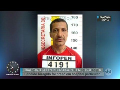 Traficante é preso antes de cirurgia plástica para mudar o rosto | SBT Brasil (24/04/18)
