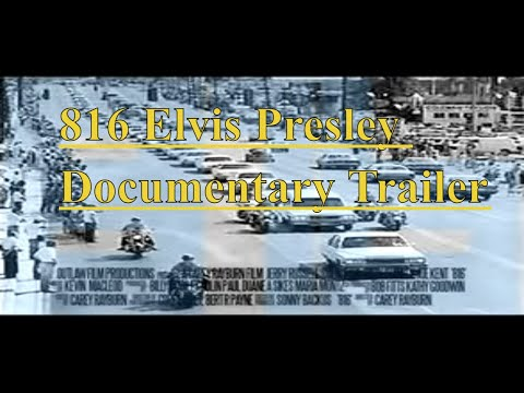 816 The Day Elvis Presley Died OFFICIAL TRAILER 2 minute version 816 Elvis (video)